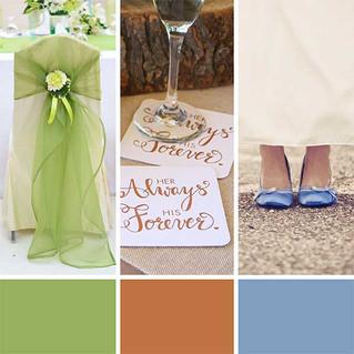 ColumbusOhio Wedding Invitations Trending Wedding Colors