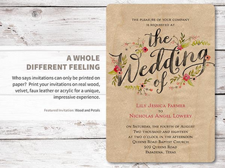 Wedding Invitations - Answering Your Cost Savings Questions