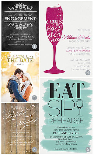 Pre-wedding Announcements and Invitations   Columbus Ohio