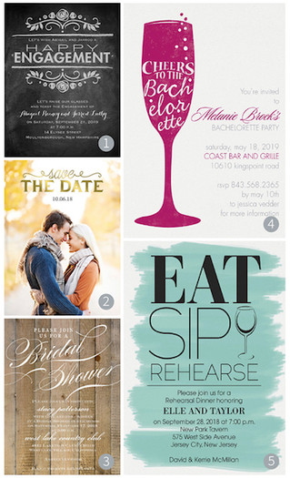 Before the invitation: Pre-wedding Announcements and Invitations