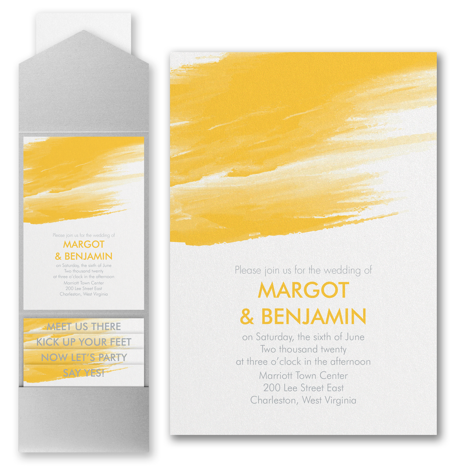 Pocket Wedding Invitations | Columbus Ohio | Blue Daisy Design | Columbus  Wedding And Corporate Invitations | Blue Daisy Design