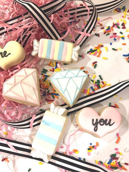 Single Mini Cookie Card