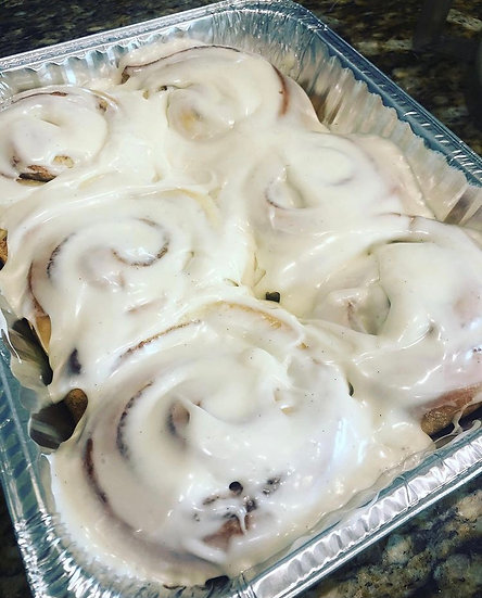 Christmas Eve Cinnamon Rolls