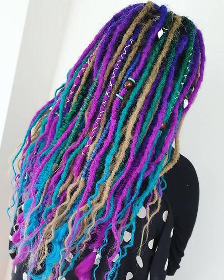 dreadlocks new zealand, temporary dreadlocks, fake dreads