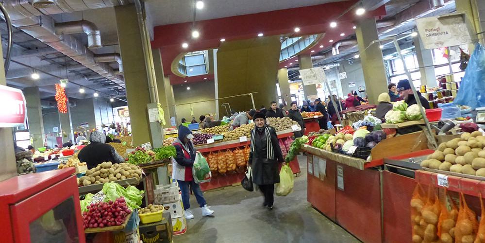 Auf dem größten Wochenmarkt Osteuropas