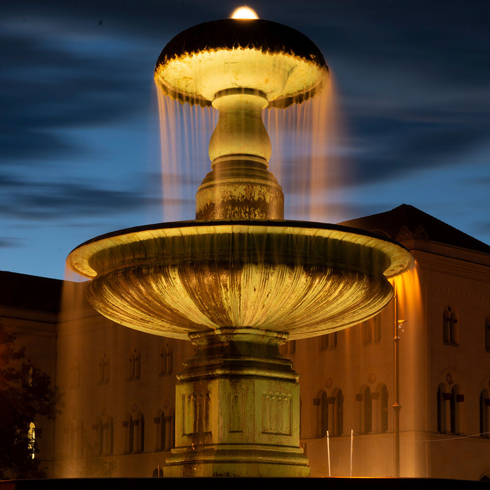 Nachtfotografie, München bei Nacht