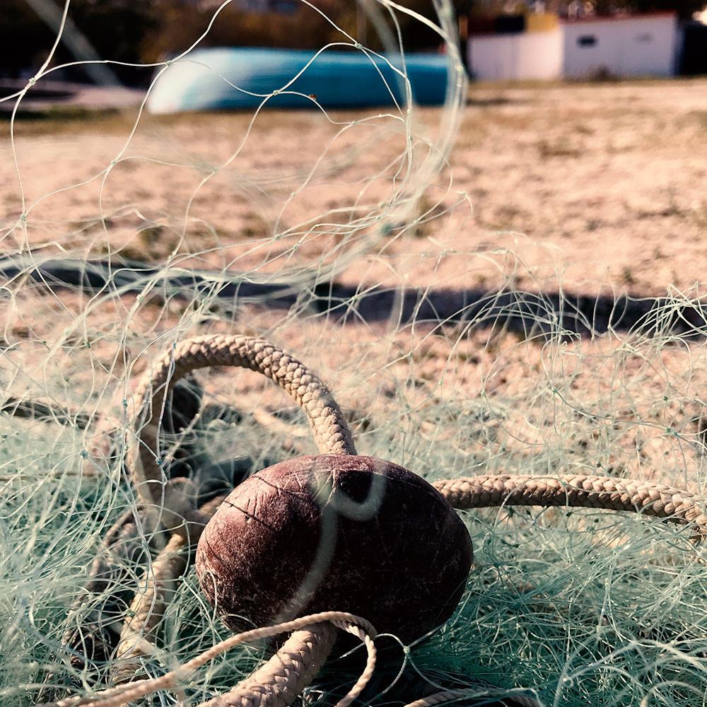 Fischernetz in Soverato
