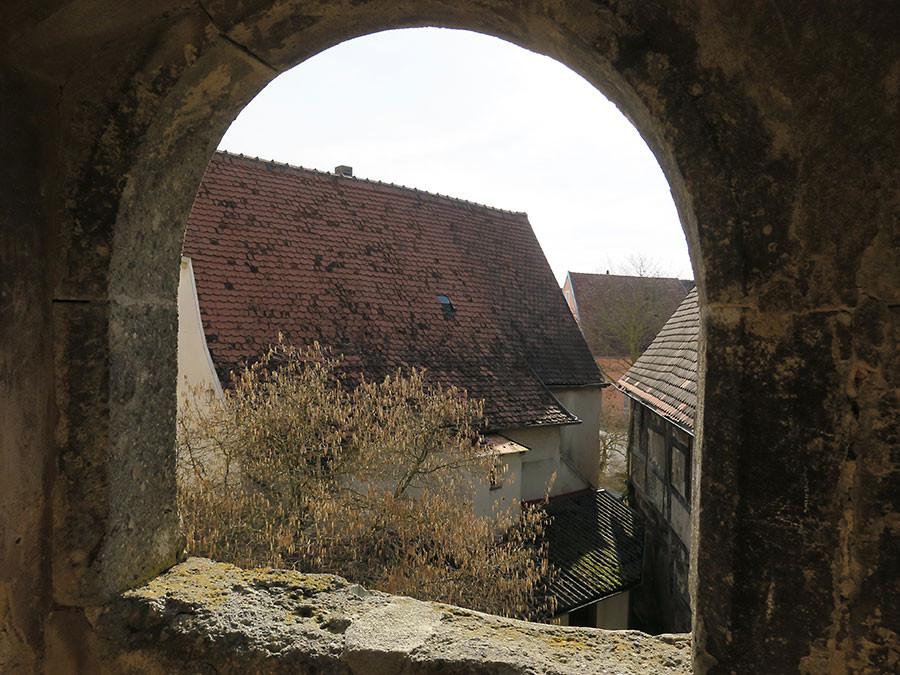 Blick von der Nördlinger Stadtmauer