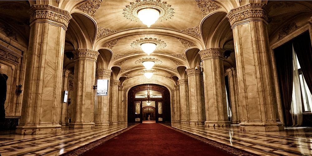 Im Präsidentenpalast