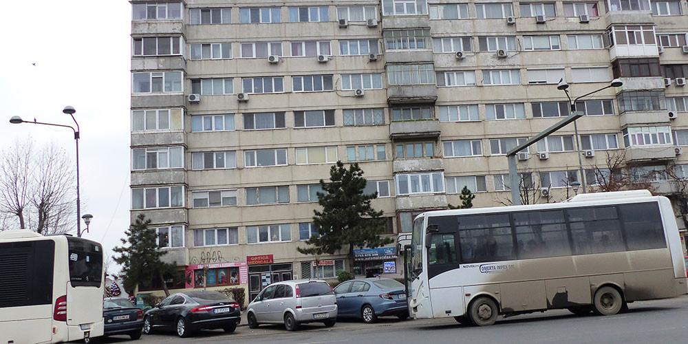 Am Stadtrand von Bukarest