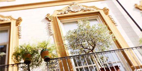 Häuserfassaden in Palermo