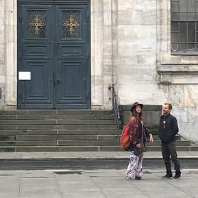 Vor der Marmorkirche