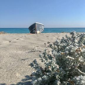Strandszene Ionisches Meer