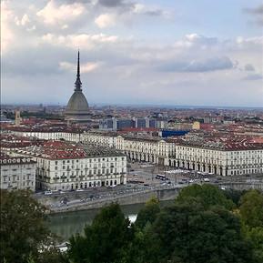 Blick auf die Stadt und die Mole Antonelliana