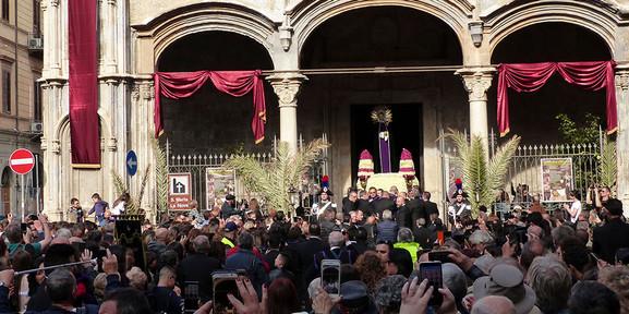 Prozession Sizilien