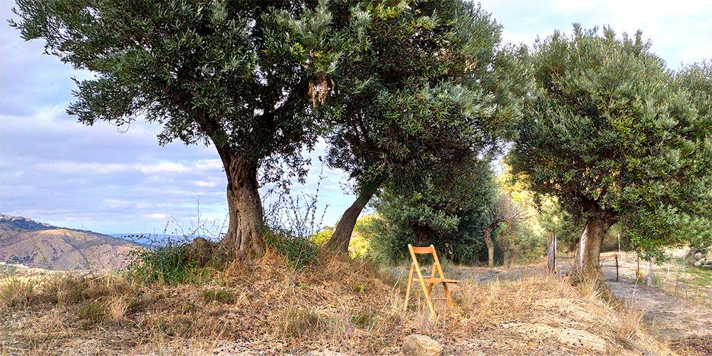 Entspannen auf dem Berg Spinella