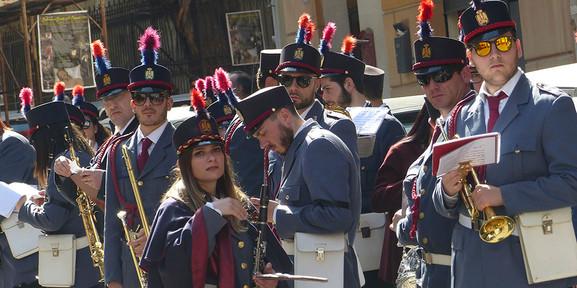 Musikkapelle Ostern Palermo