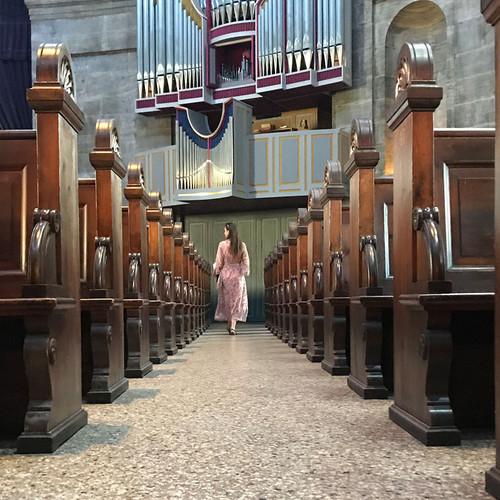 In der Marmorkirche, Kopenhagen