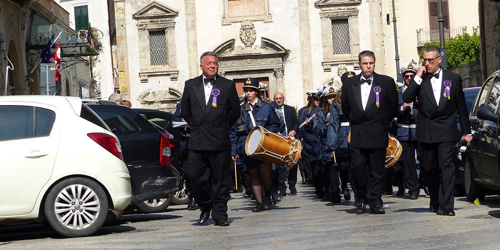 Prozessionsumzug Palermo Sizilien