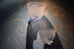 pot à fleur inversé