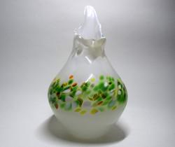 blanc et mélange vert
