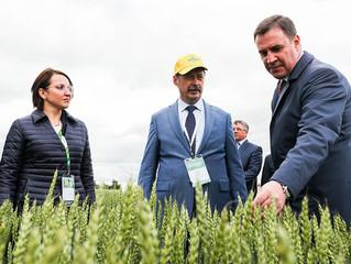 10-12 июля 2019 года в Ленинградской области  прошла Всероссийская агротехнологическая выставка – Де