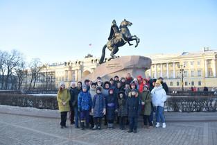 Экскурсия сотрудников ФИЦ Немчиновка в Санкт-Петербург.