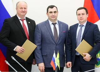 Подписание соглашения между НССиС и компанией Агролизинг.