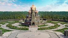 На территории Военно-патриотического парка культуры и отдыха Вооруженных Сил Российской Федерации &q