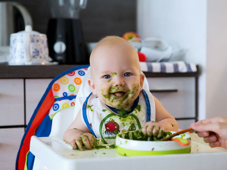 How do you keep a High Chair clean in a healthy way?