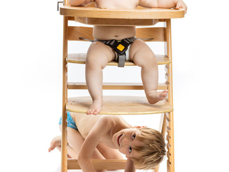 Why do High Chairs have a footrest?