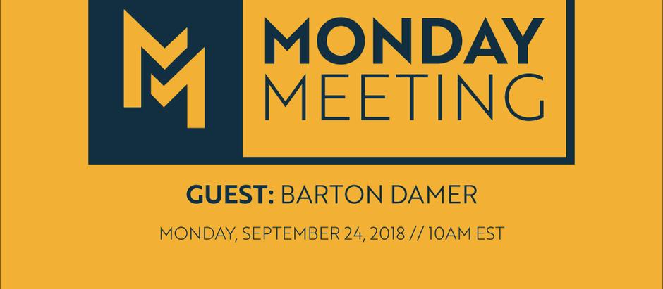 Guest: Barton Damer