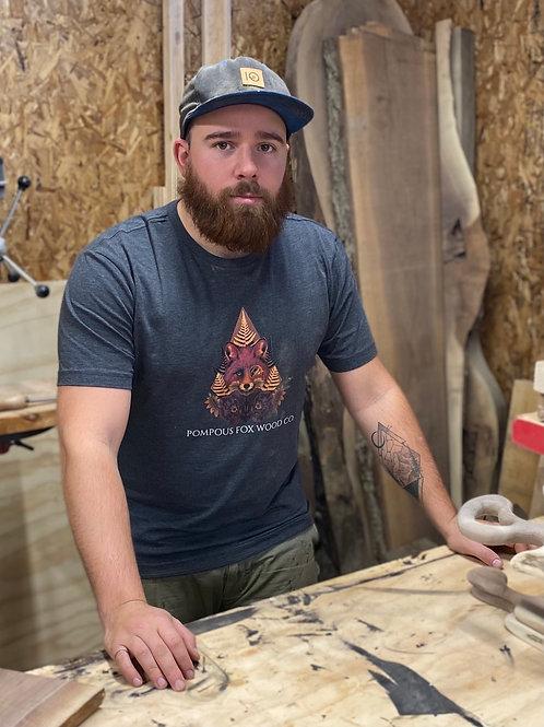 Pompous Fox Wood Co T-Shirt