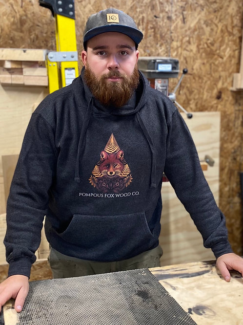 Pompous Fox Wood Co Hoodie