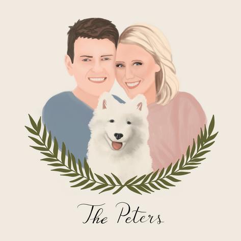 Couple + Pet