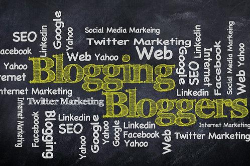 Añadir Blog a su diseño.