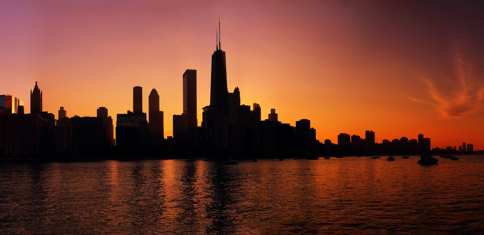 Days End in the Big City