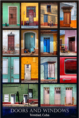Doors & Windows of Trinidad Cuba
