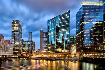 Chicago Cityscape - Wolf Point Along the