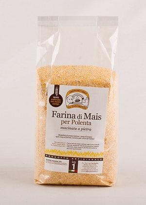Farina di Mais per Polenta 1Kg