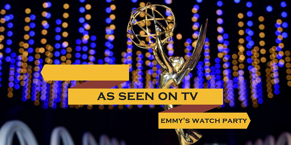 As Seen On TV: Emmys Watch Party