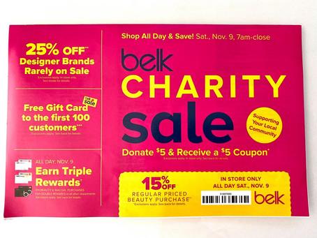Belk Charity Sale