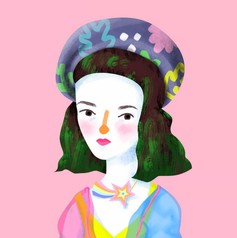 Self-portrait of launshae