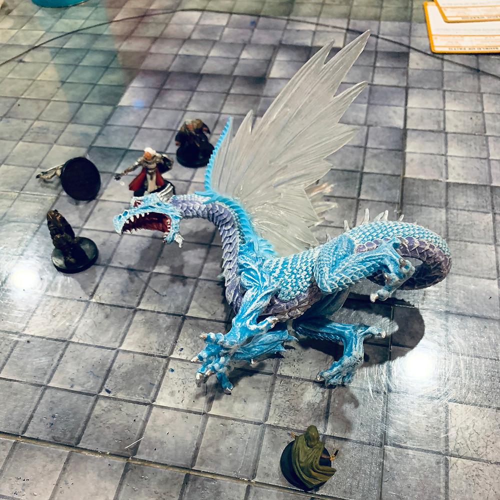 5 versus dragon