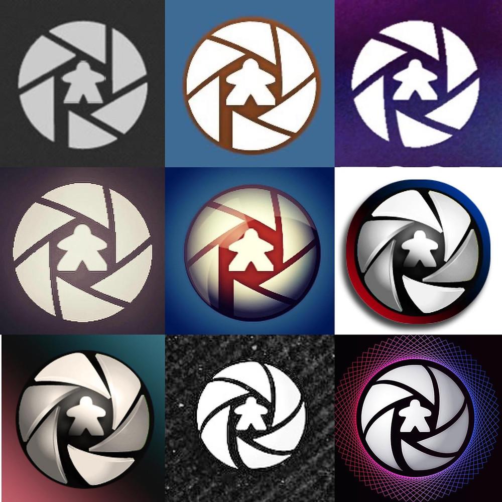 Evolving logo designs for @playtography