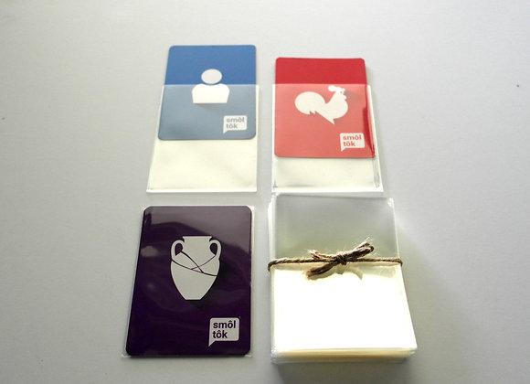 100 Card Sleeves