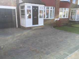 Time for a new and bigger driveway