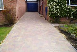 Long block driveway