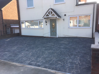 Creating a triple driveway just in time for winter