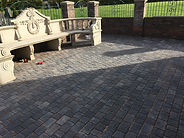 custom patio area